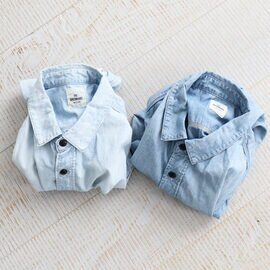 Re:ORDINARY|CHAMBRAY WORK SHIRTS -1YEAR