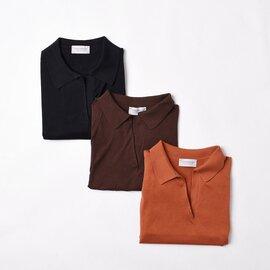 JOHN SMEDLEY|スキッパー ポロニット シャツ 半袖 S4296 ジョンスメドレー