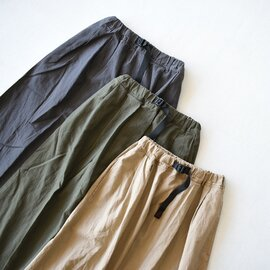 GRAMICCI|リネンコットンロングスカート LINEN COTTON LONG FLARE SKIRT ボトムス GLSK-20S035 グラミチ
