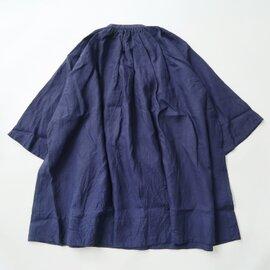 UNIVERSAL TISSU|フレンチリネン monastery uniform shirt