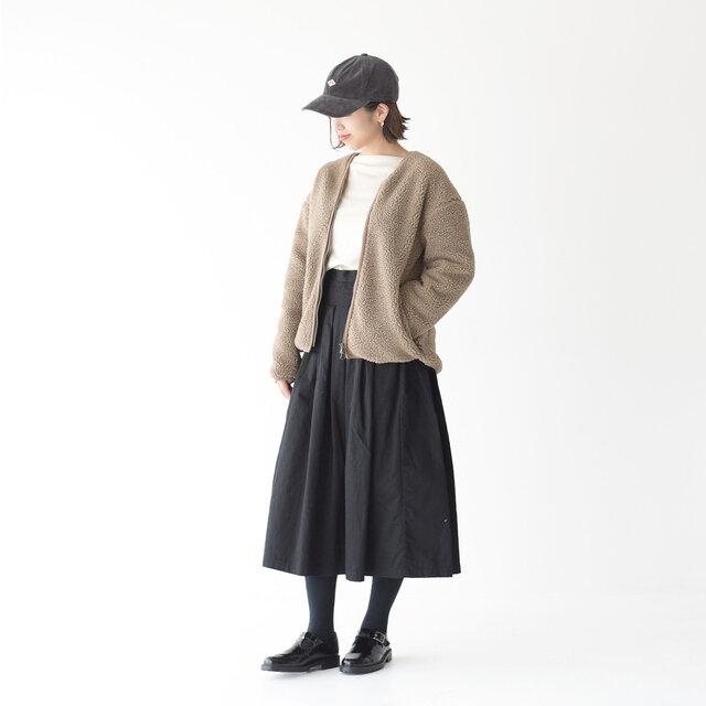 モデル:157cm / 47kg color : grey / size : フリーサイズ