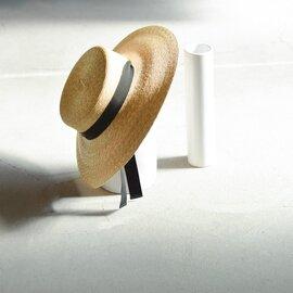 "mature ha. ガーデンリボンストローハット""5mm braid straw hat middle2"" mst-0405-rf"