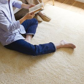 スミノエ|洗えるラグ レーヴ〈床暖対応〉