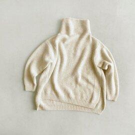 unfil|カシミヤネップオーバーサイズセーター wzfl-uw126-fn