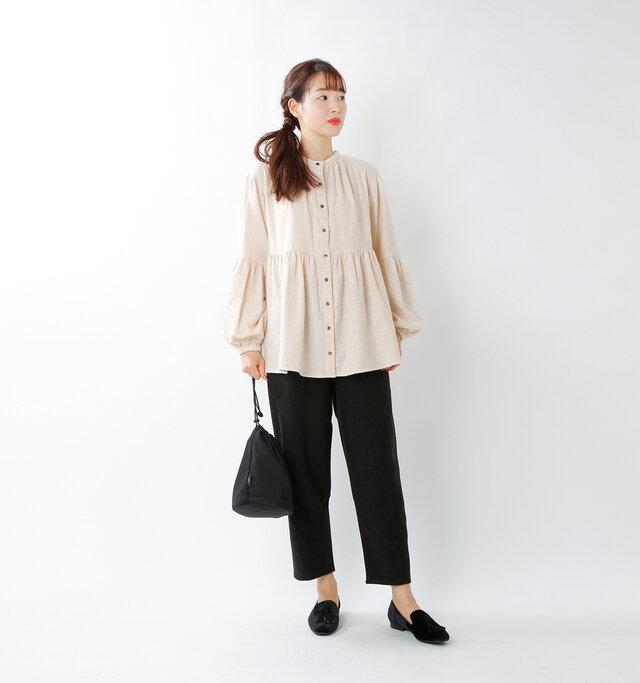 model mizuki:168cm / 50kg  color : off white / size : M