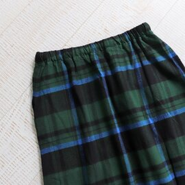SOUTH2 WEST8|String Skirt -Cotton Twill Plaid