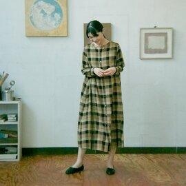 GRANDMA MAMA DAUGHTER|Aラインスキッパーワンピース