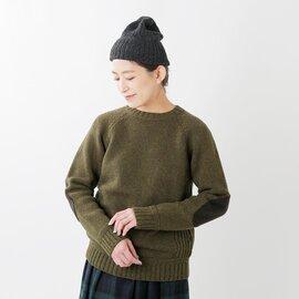 "soglia エルボーパッチウールニットプルオーバー""LANDNOAH Sweater"" landnoah-sweater-mm"