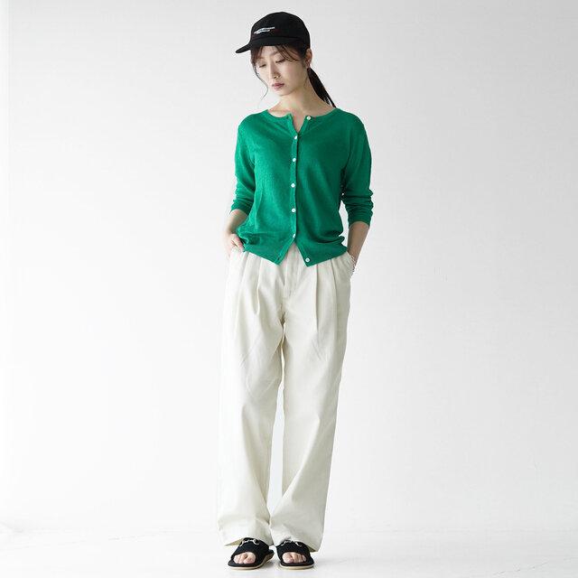 モデル:166cm / 47kg color :green(col.35) / size : フリーサイズ