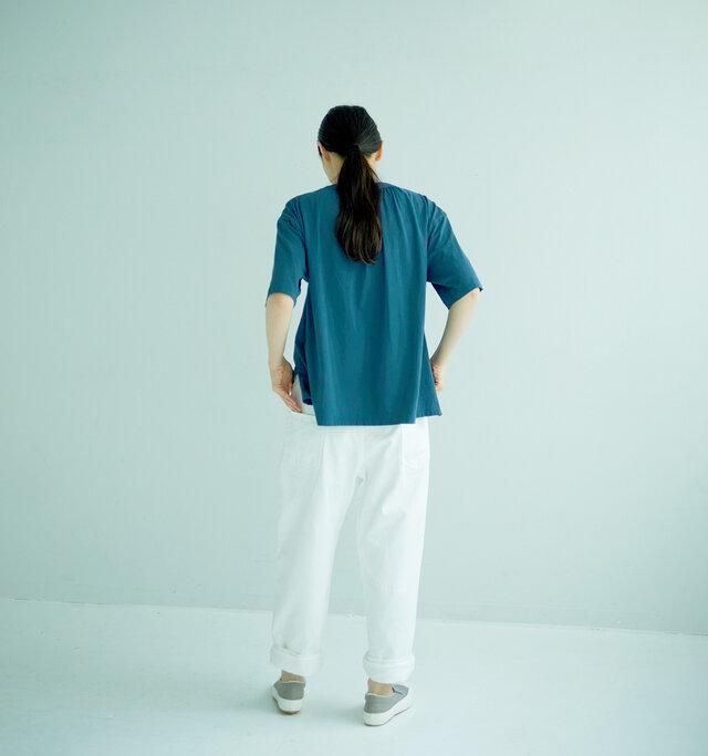 モデル165cm 着用サイズ:0(BLUE)