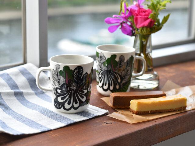 朝のホットコーヒーや、お友達とのティータイム、使う度楽しい気分にさせてくれそうですね。