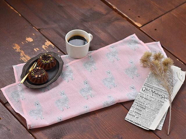 松尾ミユキ 【メール便対応】ハンカチ 動物柄