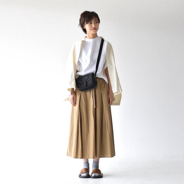 モデル: 160cm /43kg color:white / size:XS(S~M)