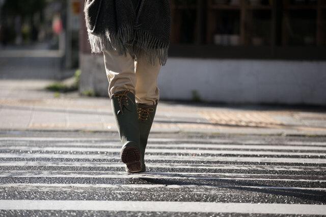 BARBARIAN CHIEFTAINは東北で生まれた日本人にベストなフィッティングをコンセプトに作られた長靴です。