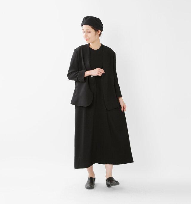 model yama:167cm / 49kg color : black / size : F