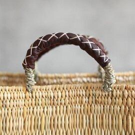 松野屋|ストローカゴ 革手