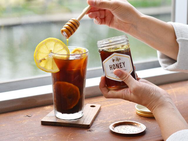 コーヒーのお砂糖代わりにしても、もちろん相性抜群です◎