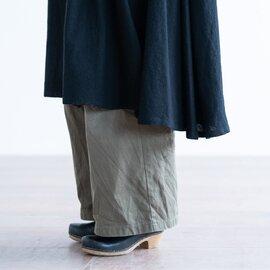mizuiro ind|ギャザーワイドコート