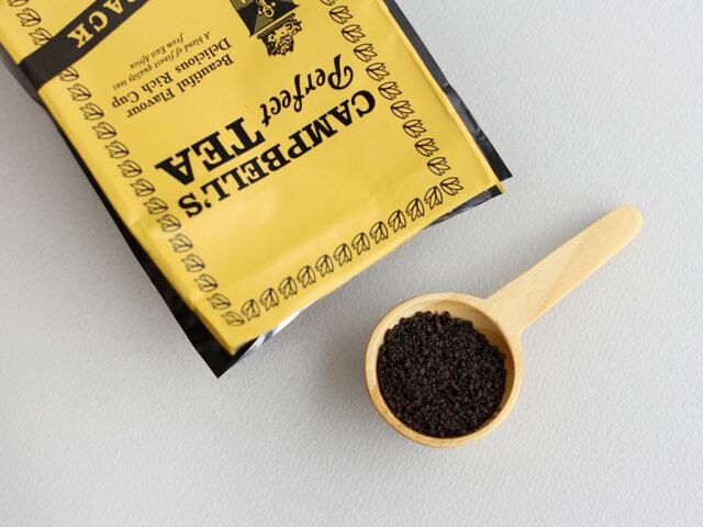 250gの茶葉を袋に入れた、詰め替え用のリフィルパックも。 まずは味を試してみたいという方や、カジュアルな贈り物にもおすすめです。