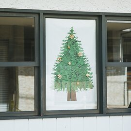 nunocoto|クリスマスツリータペストリー:さこももみ [ネコポス対応]