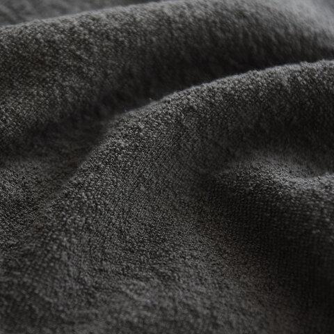 unfil|ヴィンテージ コットン パイル ロングスリーブ Tシャツ ワイドシルエット クルーネック プルオーバー カットソー WZFL-UW107 アンフィル