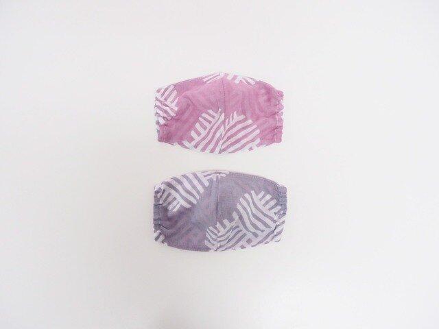 hirali 不織布マスク用 薄手ガーゼのマスクカバー ~願の糸~