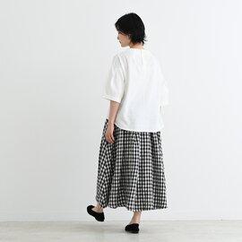 TUTIE. 20/-コットン天竺ダーツネックプルオーバー