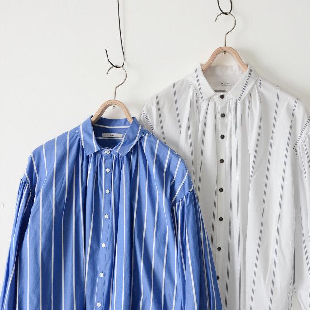 カラーは「blue×white(ブルー×ホワイト)」と「white×black(ホワイト×ブラック)」の2種類をご用意しました。
