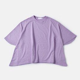 Graphpaper|コットンスウェットショートスリーブイレギュラーヘムTシャツ gl191-70097-yh