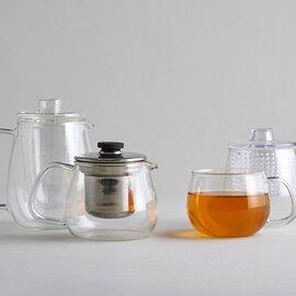 KINTO|UNITEA ジャグ ガラス / ミルクピッチャー ガラス