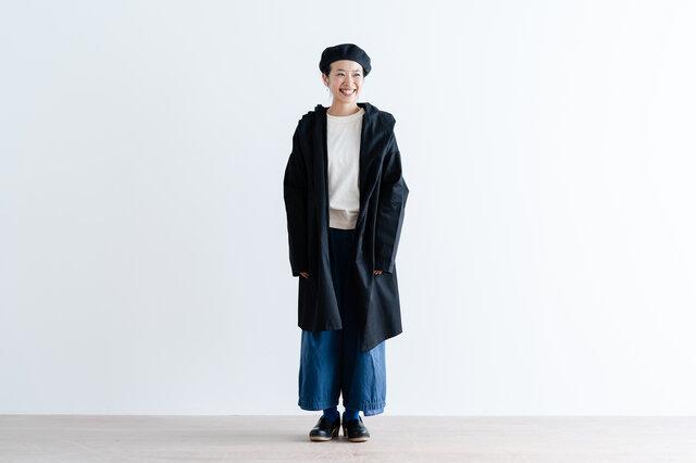 ブラック着用、モデル身長|160cm