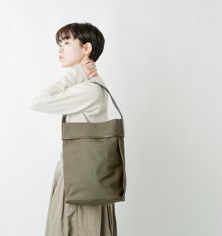 "ANVOCOEUR|6号帆布カウレザートートバッグ""Wombarra"" ac21305-yn"