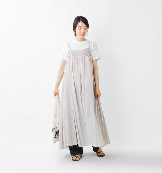 model mizuki:168cm / 50kg  color : peal gray / size : 1