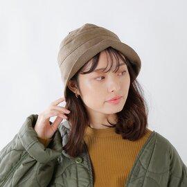 "Nine Tailor リネンウールセーラーハット""Castana Hat"" n-369-fn"