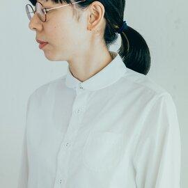 GRANDMA MAMA DAUGHTER 定番 ラウンドカラーシャツ