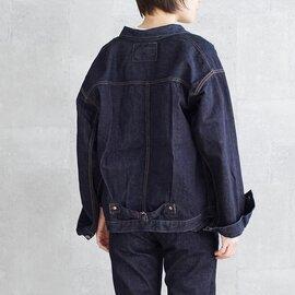 "LENO|ビッグデニムトラッカージャケット""BRENDA"" h2002-jj003"