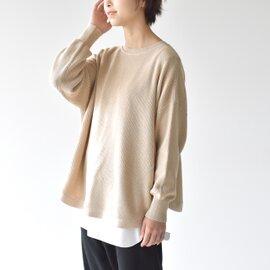 mao made インナーシャツセット ソフトコットン カーディガン 011140 マオメイド