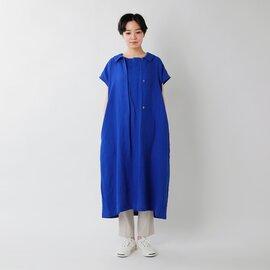 nooy|リネンワッシャーダブルドレス nop04ss21-hm