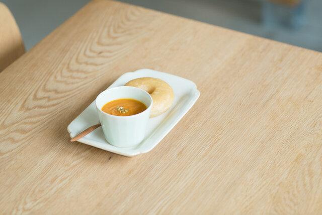 スープにもちょうどよいサイズです。