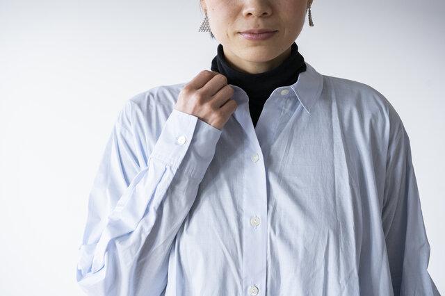 綿100%ですこし透け感のある素材です。