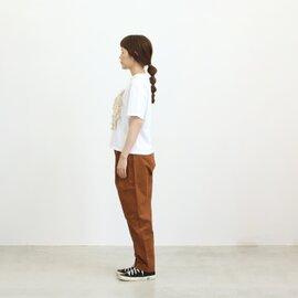 UNIVERSAL SEVEN|sankakuchako ラインフリルクルーネックプルオーバー