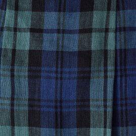 O'NEIL OF DUBLIN|タータンチェックリネンマキシタックスカート 80697-tr