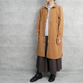 HUIS|シャトルコーデュロイロングシャツ【ユニセックス】