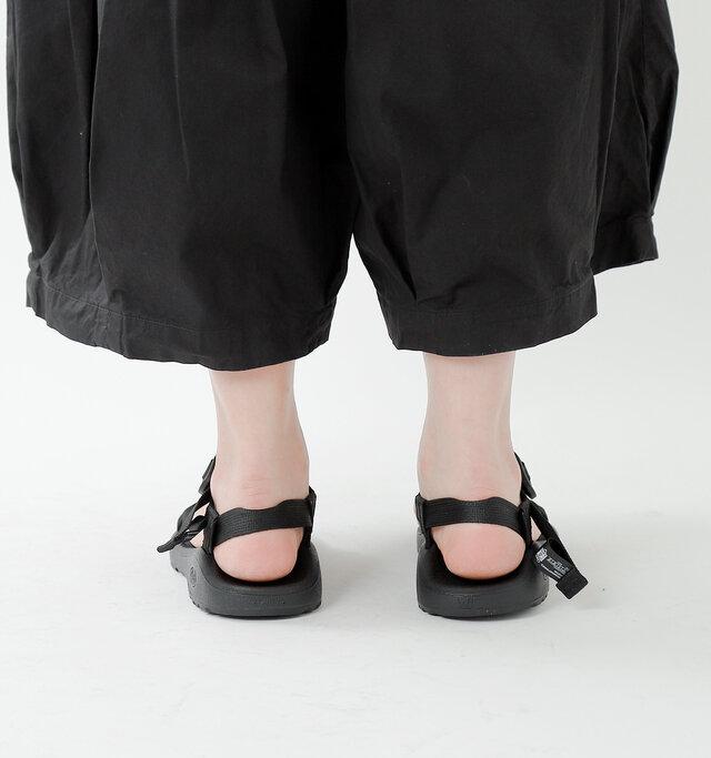 CLOUDシリーズは「Chaco」で一番ソフトなフットベッドを使用し、より軽い履き心地に仕上がっています。