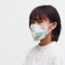 hirali|【送料無料】不織布マスク用 薄手ガーゼのマスクカバー ~風光る~