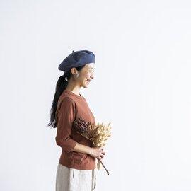 homspun|天竺 七分袖カットソー