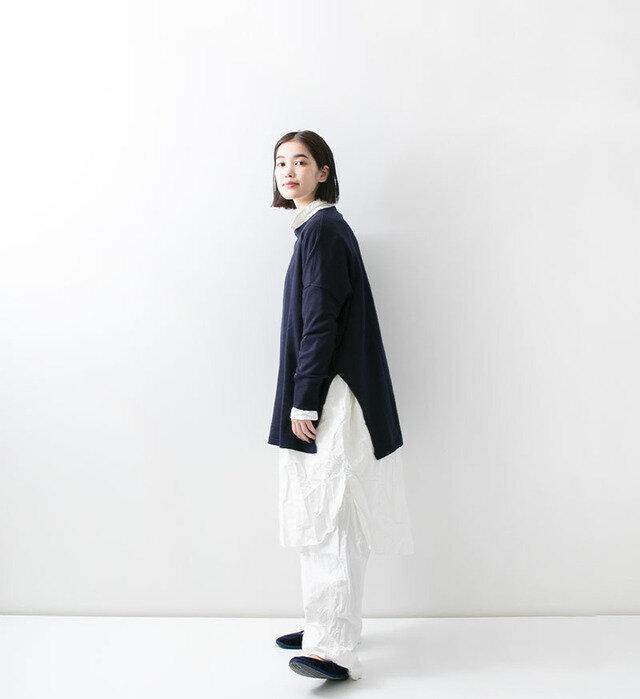color : NVY , model : 162cm