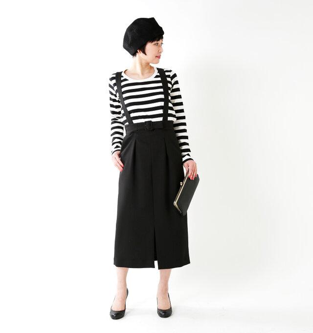 model mayu:158cm / 48kg color : black / size : 38